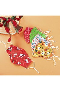 Non-medicial Christmas And Halloween Cotton Reusable Face Mask In 5 Colors