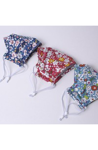 Non-medicial Reusable Floral Printed Cotton Face Mask In 3 Colors