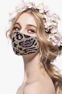 Non-Medical Leopard Print Face Masks